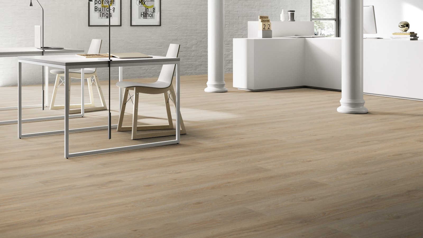 Pvc vloeren voor kantoor 100% kwaliteit in producten en het leggen.